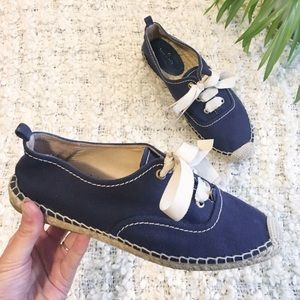 Kate Spade Lina Lace Up Sneaker Espadrilles Size 9